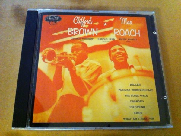Clifford Brown And Max Roach★輸入盤 クリフォード・ブラウン マックス・ローチ_画像1