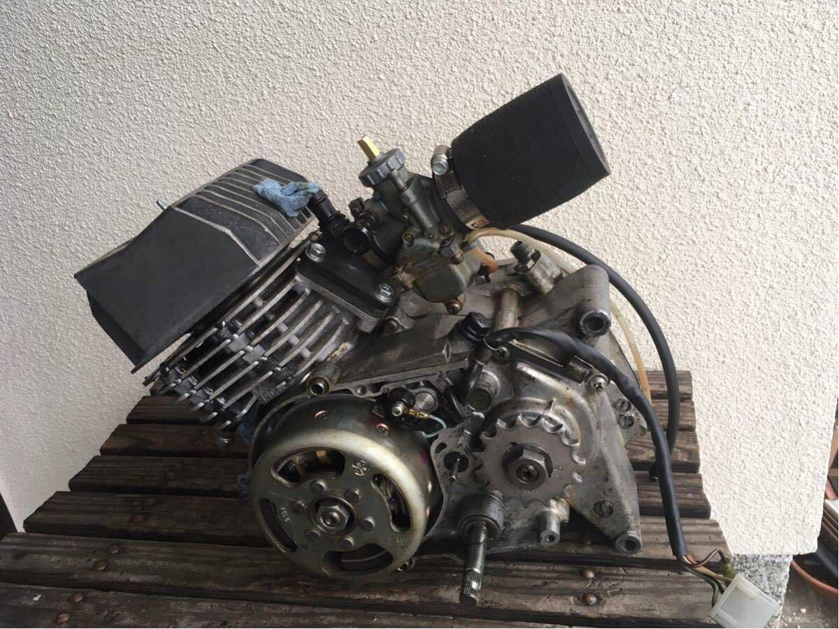 MR80 エンジン ysr80 シリンダー VM18 キャブ キタコ UNIフィルター セット フォーゲル ヤマハ おまけ多数あり