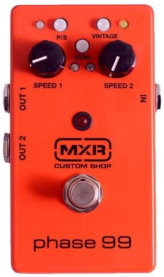 【新品】MXR(エムエックスアール) PHASE 99 CSP099 - ギターエフェクター フェイザー_画像1
