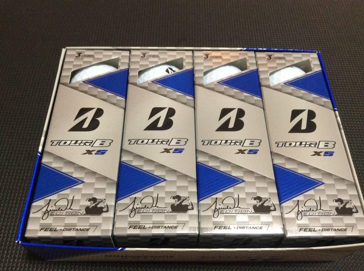 格安☆ タイガー仕様 2ダースセット TourB XS ホワイト ツアーB ブリヂストン_画像3