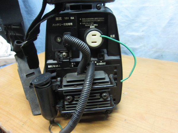 ◆◇【2134】ホンダ HONDA ポータブル発電機 EX300 hippo 2サイクル 一発始動 60Hz◇◆_画像4