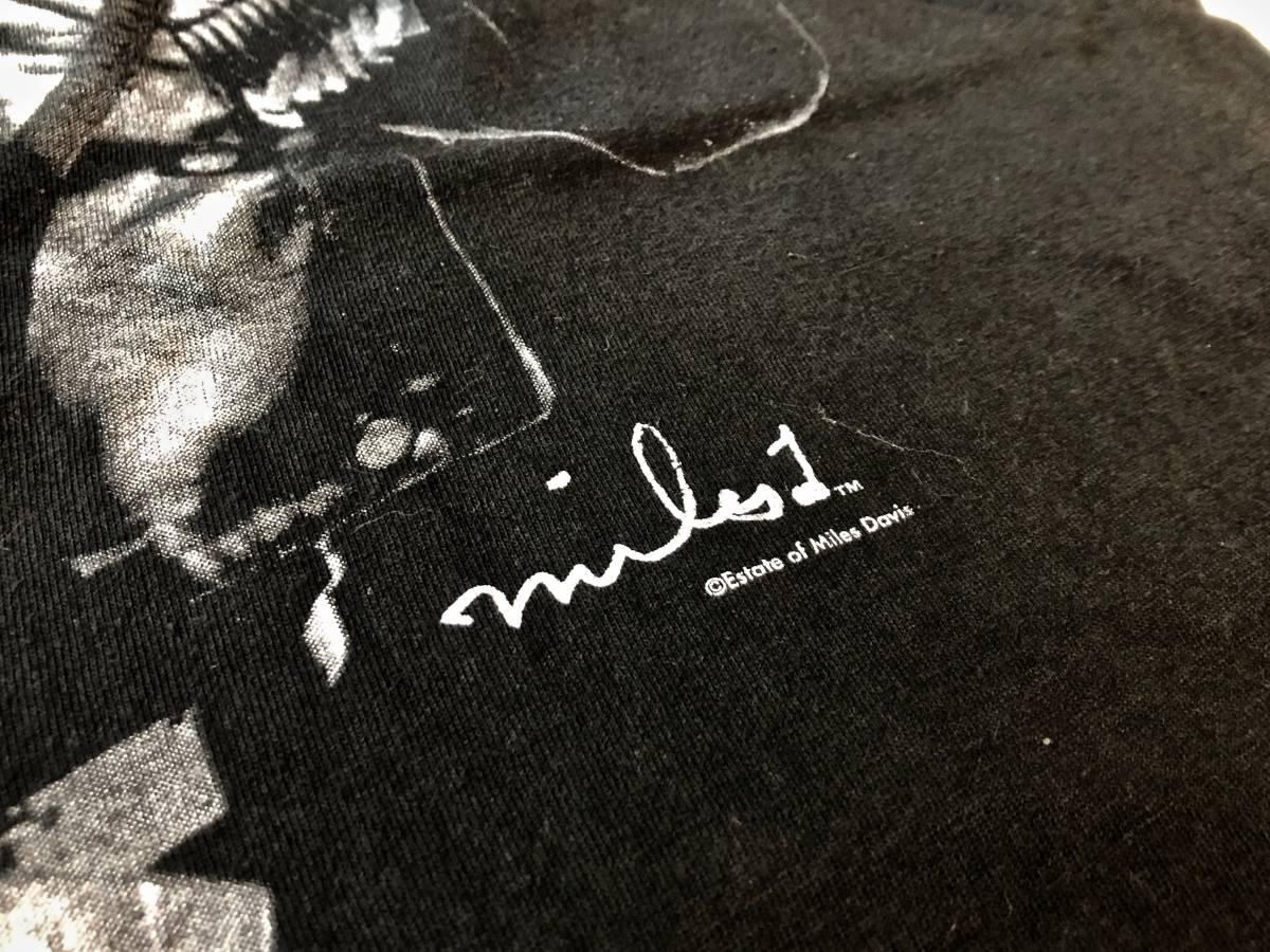 ヴィンテージ マイルスデイビス Tシャツ ブラック ムービー 映画 チェットベイカー ジャズ T バンドT 古着 80s 90s_画像3