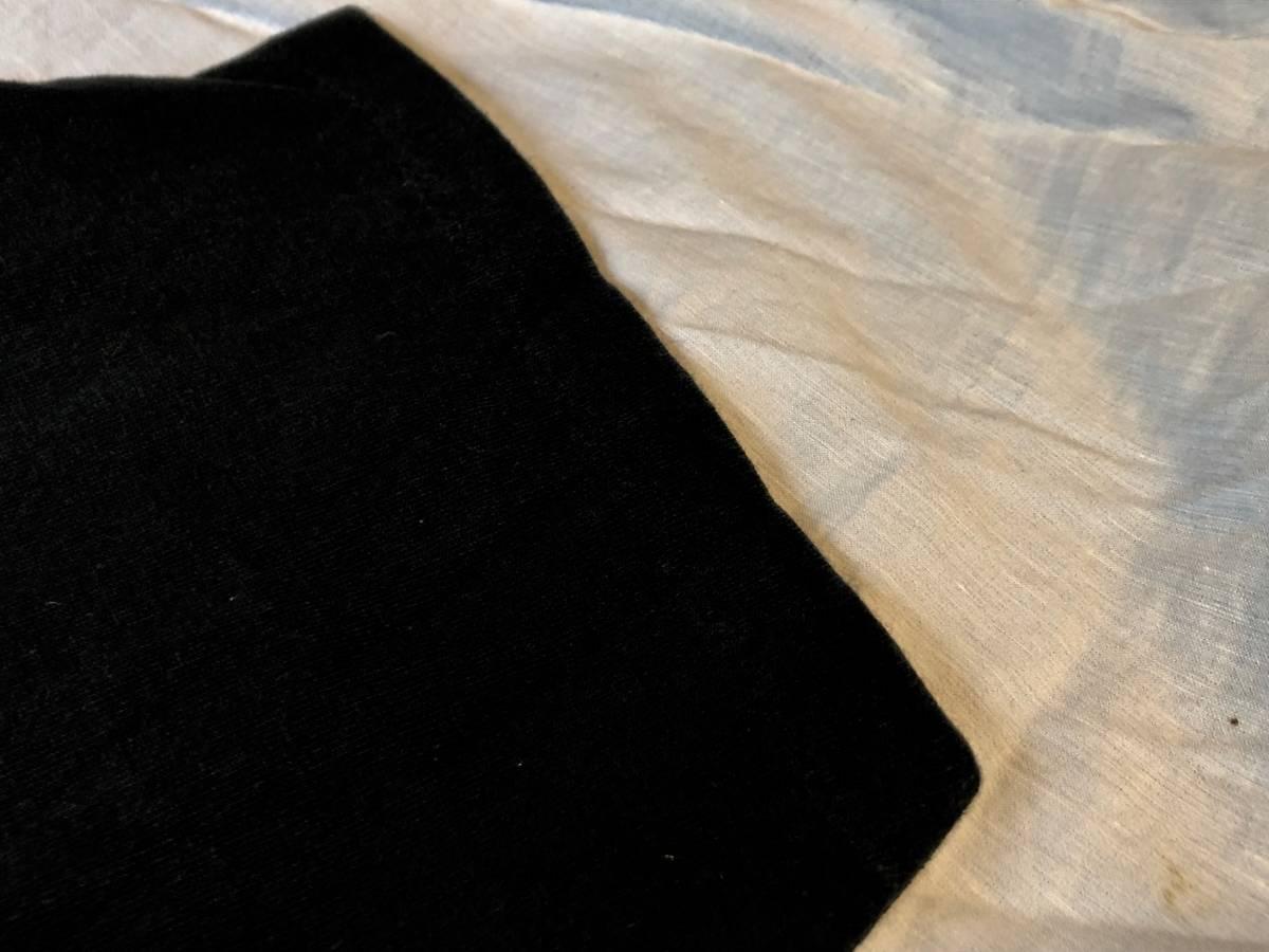 ヴィンテージ マイルスデイビス Tシャツ ブラック ムービー 映画 チェットベイカー ジャズ T バンドT 古着 80s 90s_画像5