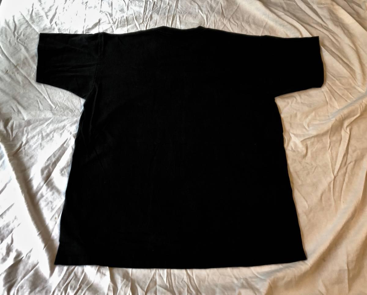 ヴィンテージ マイルスデイビス Tシャツ ブラック ムービー 映画 チェットベイカー ジャズ T バンドT 古着 80s 90s_画像4