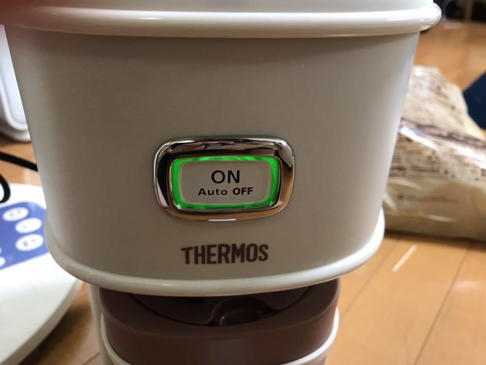 (展示品未使用) サーモス アイスコーヒーメーカー ECI-660 0.66L THERMOS バニラホワイト_画像3
