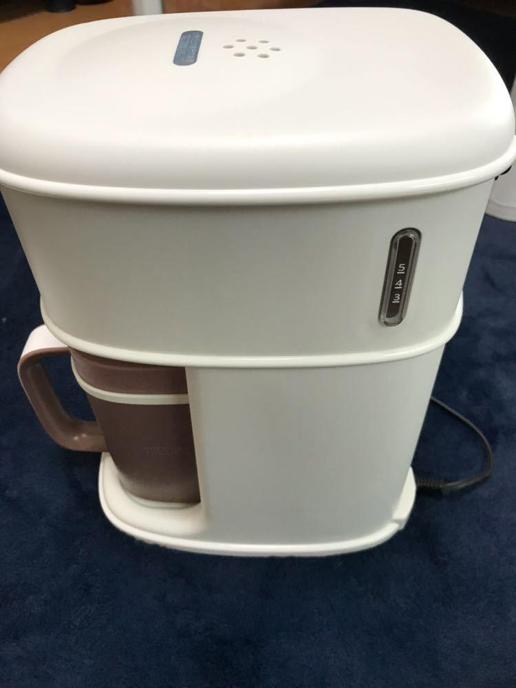 (展示品未使用) サーモス アイスコーヒーメーカー ECI-660 0.66L THERMOS バニラホワイト_画像2