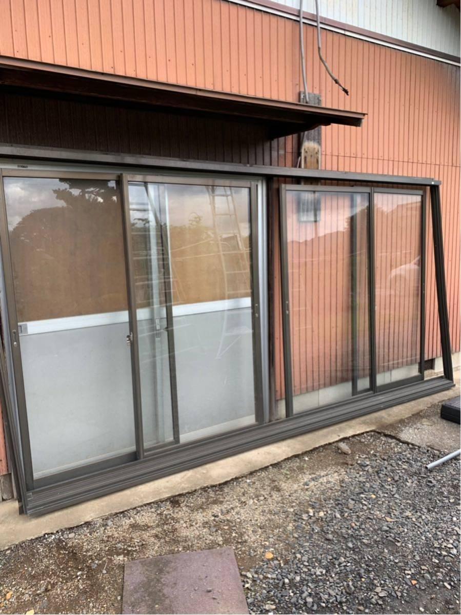 アルミサッシ ガラス窓 雨戸 網戸_画像3