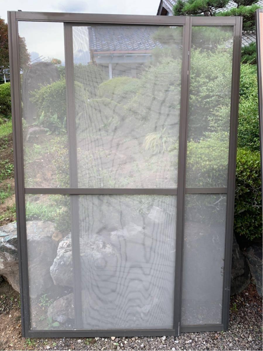 アルミサッシ ガラス窓 雨戸 網戸_画像4