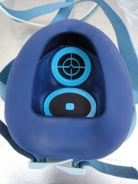 ●未使用 KOKEN サカヰ式 防毒マスク 5個 +吸収缶17個+防じんマスク2個_画像4