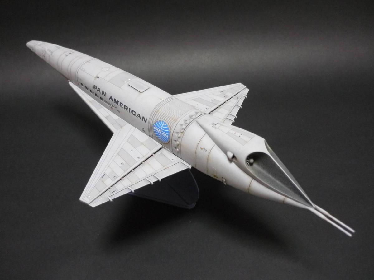 メビウスモデル 2001年宇宙の旅 オリオン号 完成品(スペースクリッパー ディスカバリー号 ムーンバス スペースポッド プロテウス号)_画像6