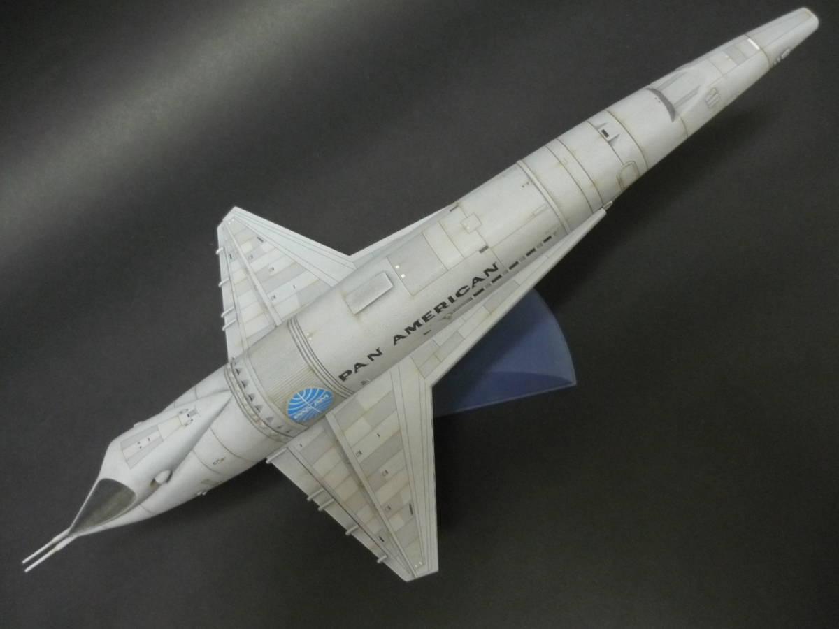メビウスモデル 2001年宇宙の旅 オリオン号 完成品(スペースクリッパー ディスカバリー号 ムーンバス スペースポッド プロテウス号)_画像10