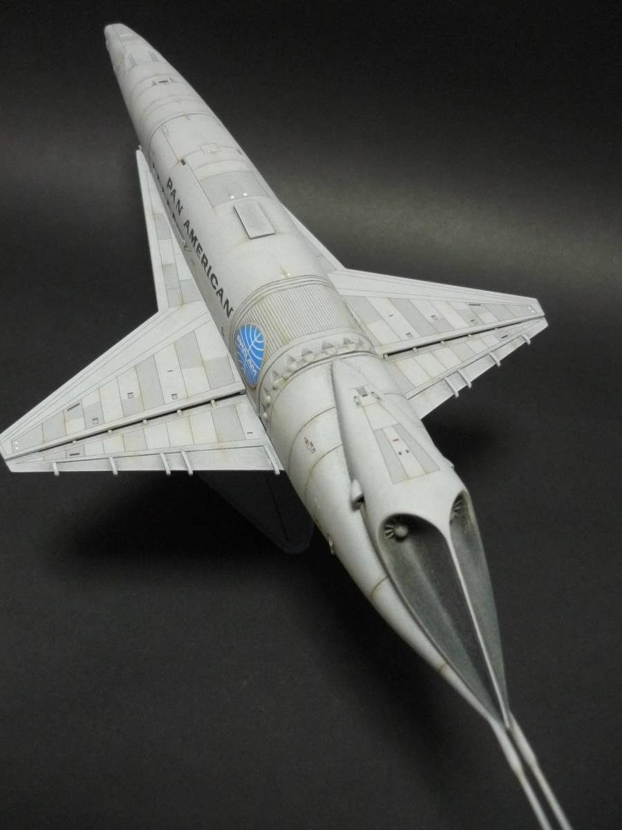 メビウスモデル 2001年宇宙の旅 オリオン号 完成品(スペースクリッパー ディスカバリー号 ムーンバス スペースポッド プロテウス号)_画像8