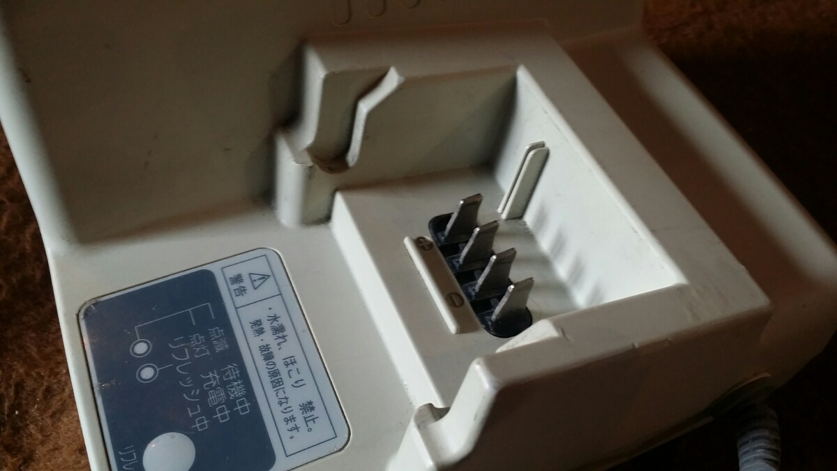 【Panasonic】リチウムイオンバッテリー用 充電器 NKJ034(LH22)_画像2