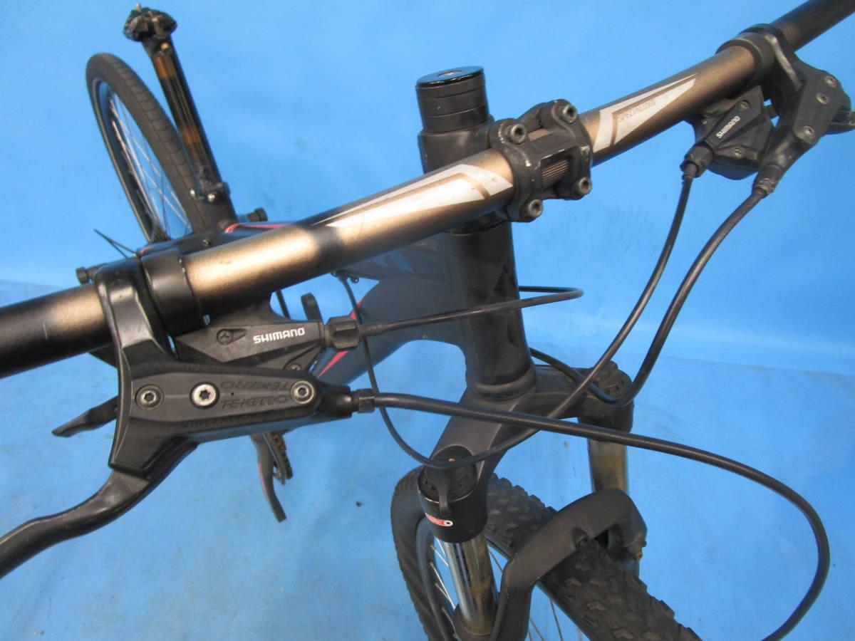 ☆大阪西淀 レストア部品取り SPECIALIZED HARDROCK SPORT マウンテン 油圧ディスク 29インチ 3×8 スペシャライスド ACERA 中古自転車JL92_画像3