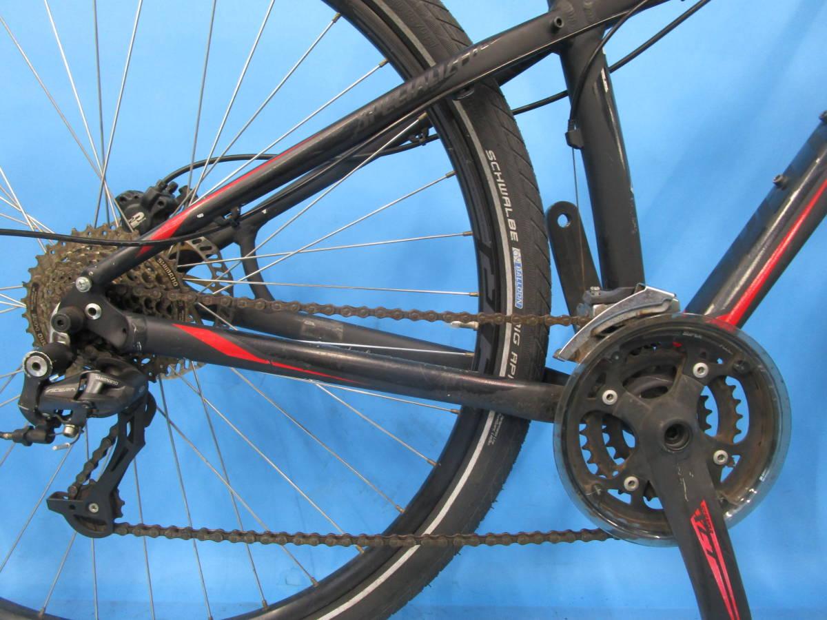 ☆大阪西淀 レストア部品取り SPECIALIZED HARDROCK SPORT マウンテン 油圧ディスク 29インチ 3×8 スペシャライスド ACERA 中古自転車JL92_画像5