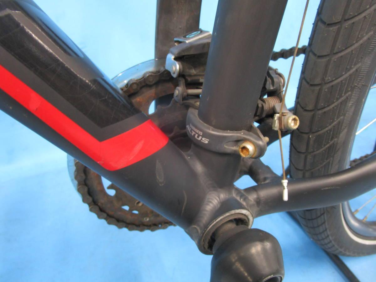 ☆大阪西淀 レストア部品取り SPECIALIZED HARDROCK SPORT マウンテン 油圧ディスク 29インチ 3×8 スペシャライスド ACERA 中古自転車JL92_画像6