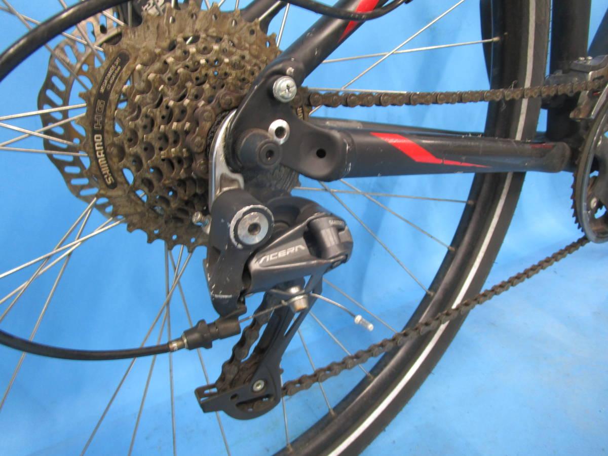 ☆大阪西淀 レストア部品取り SPECIALIZED HARDROCK SPORT マウンテン 油圧ディスク 29インチ 3×8 スペシャライスド ACERA 中古自転車JL92_画像8