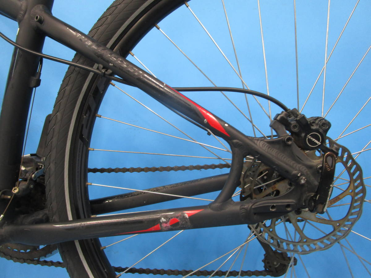 ☆大阪西淀 レストア部品取り SPECIALIZED HARDROCK SPORT マウンテン 油圧ディスク 29インチ 3×8 スペシャライスド ACERA 中古自転車JL92_画像7