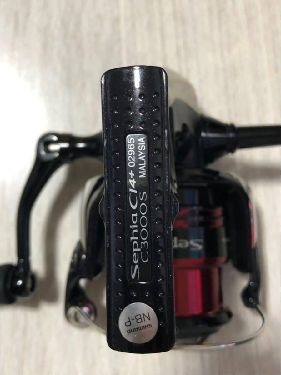 シマノ 12セフィア ci4+ c3000s エギング_画像2
