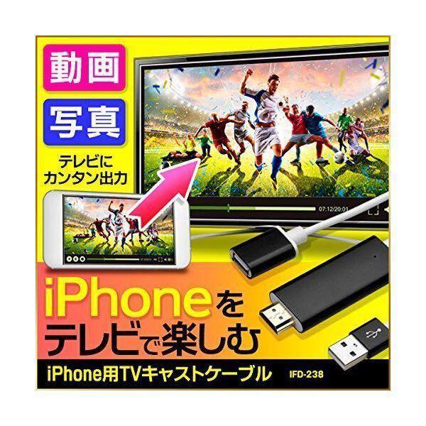 ★送料無料★iPhone用TVキャストケーブル 新品