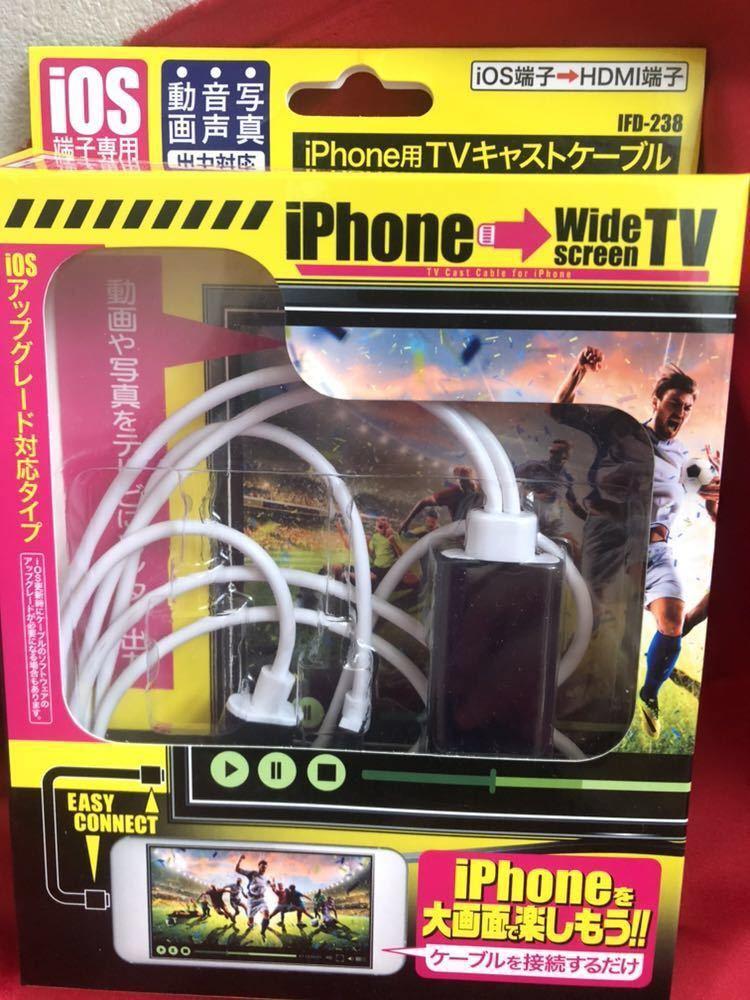 ★送料無料★iPhone用TVキャストケーブル 新品_画像5