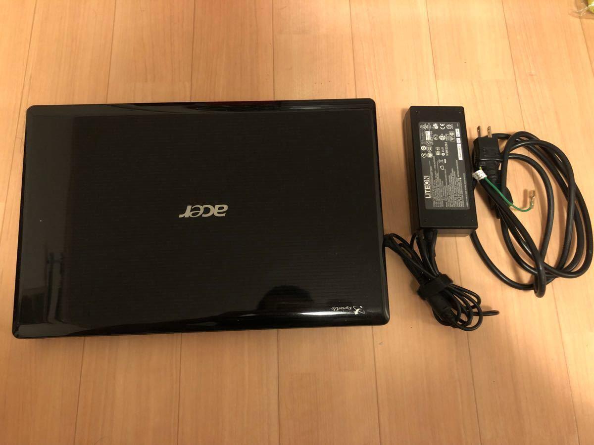 中古 acer ノートパソコン pc 5745DG aspire 3D