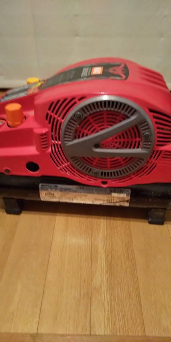 MAX高圧、常圧エアコンプレッサーAK-HL1250E現状品中古_画像3