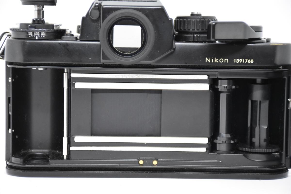 1円~ Nikon F3 ボディ おまけレンズ50mm30mm♯23_画像4