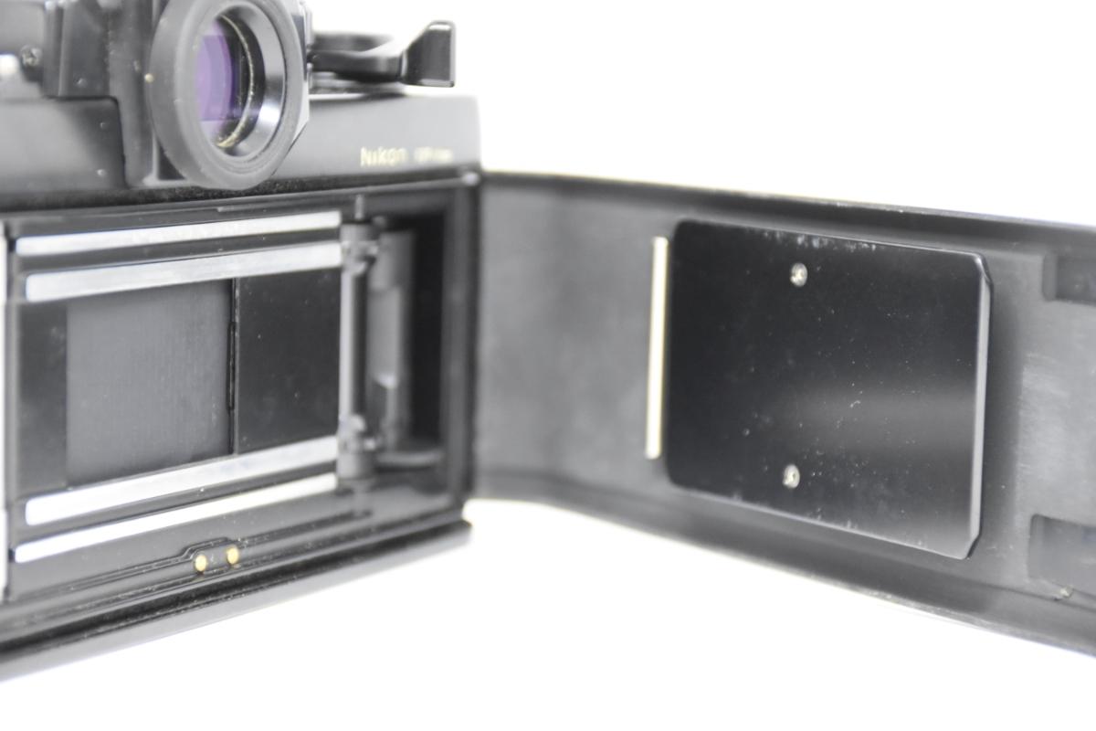 1円~ Nikon F3 ボディ おまけレンズ50mm30mm♯23_画像5
