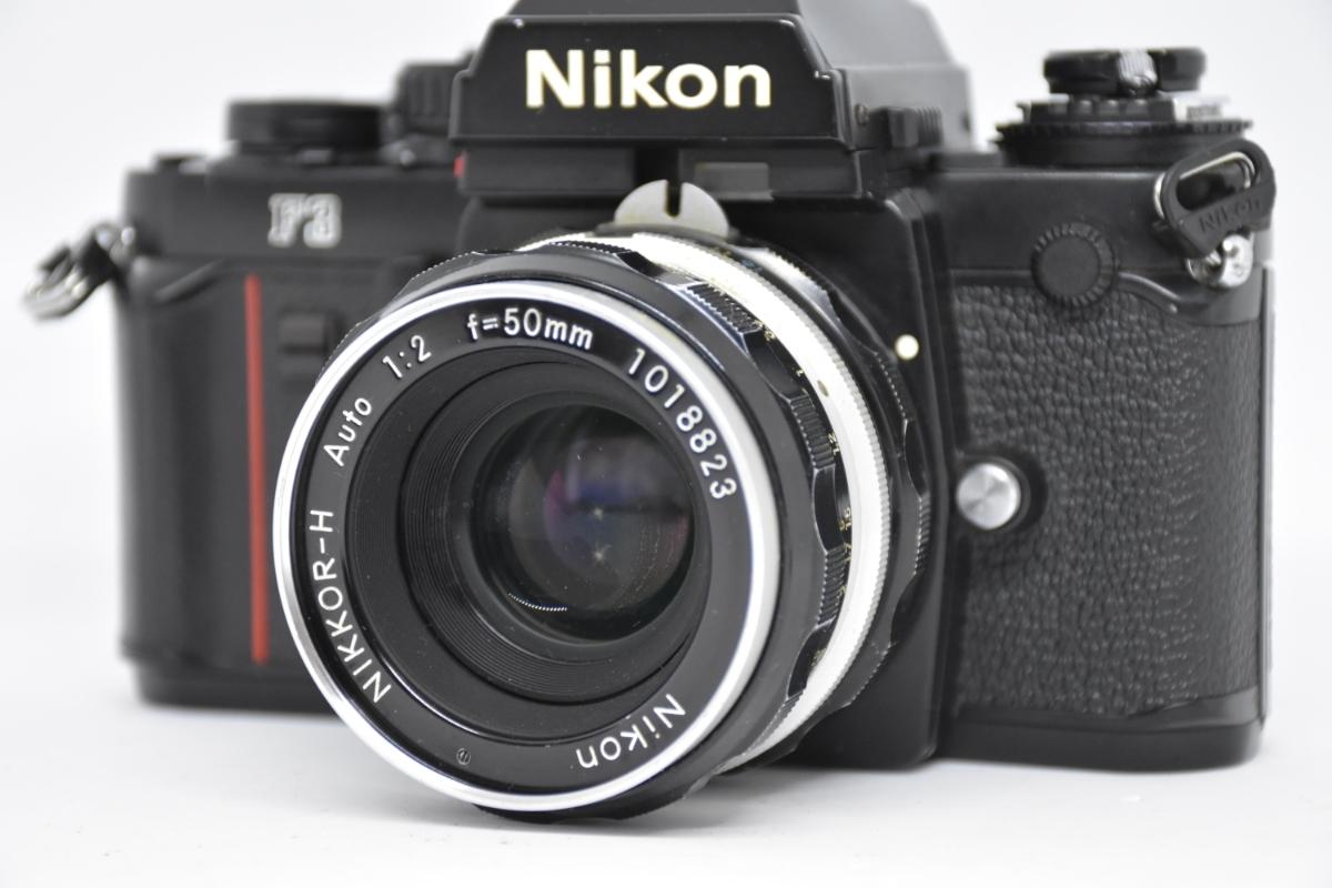 1円~ Nikon F3 ボディ おまけレンズ50mm30mm♯23_画像7