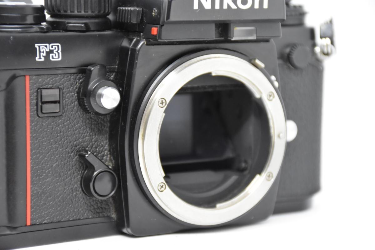 1円~ Nikon F3 ボディ おまけレンズ50mm30mm♯23_画像3