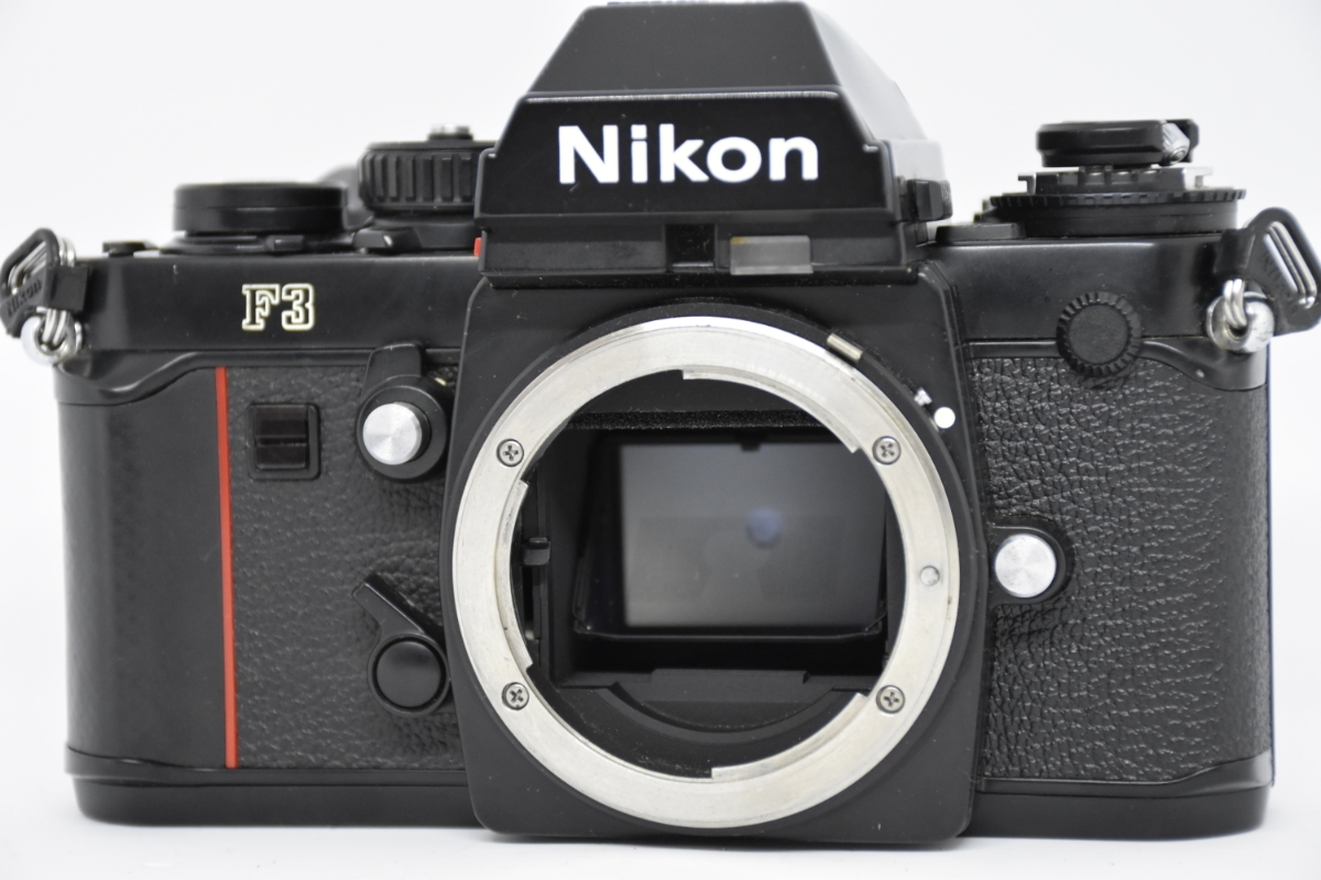 1円~ Nikon F3 ボディ おまけレンズ50mm30mm♯23_画像2