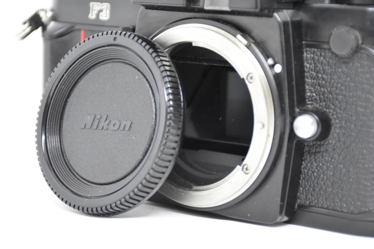 1円~ Nikon F3 ボディ おまけレンズ50mm30mm♯23_画像9