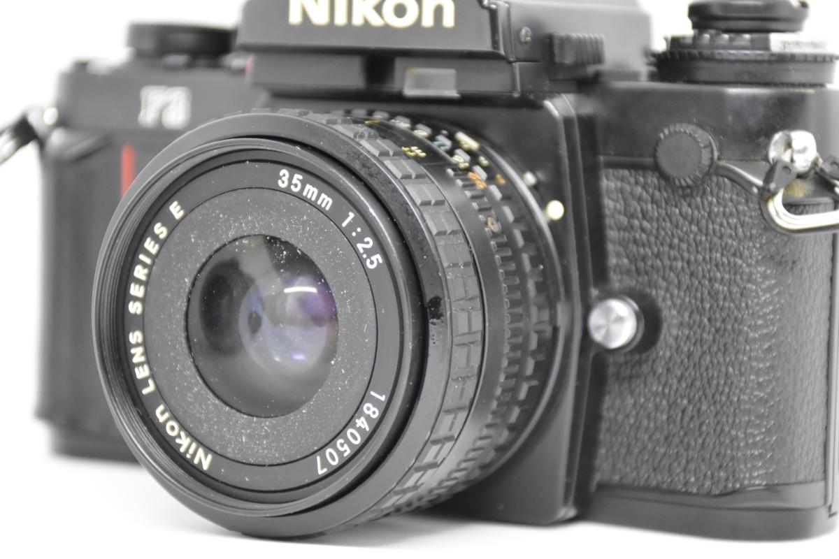 1円~ Nikon F3 ボディ おまけレンズ50mm30mm♯23_画像8
