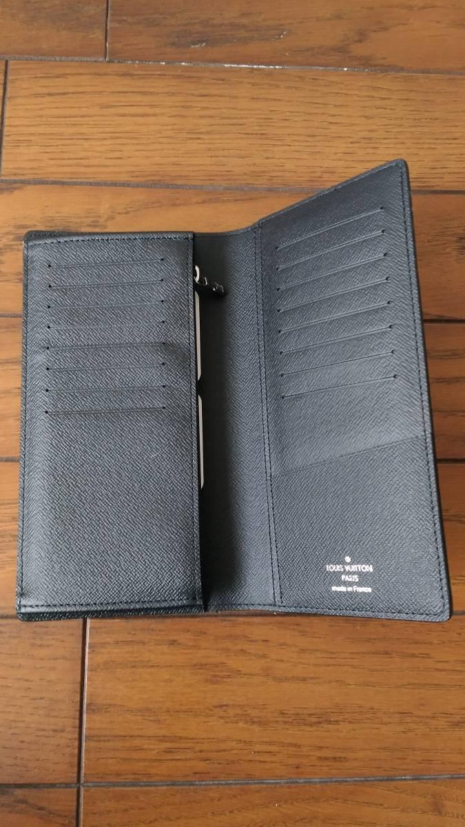 【未使用品】 ルイヴィトン LOUIS VUITTON モノグラム・エクリプス 財布 ポルトフォイユ・ブラザ M61697長財布 メンズ ウォレット_画像3