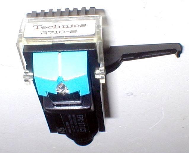 Technics EPC-271CS MM-Stereo HeadShell Cartridge 新品針付き 出力OK! 綺麗_画像6