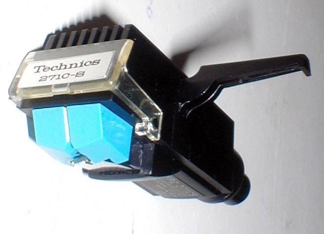 Technics EPC-271CS MM-Stereo HeadShell Cartridge 新品針付き 出力OK! 綺麗_画像2