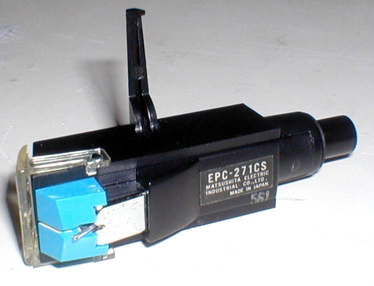 Technics EPC-271CS MM-Stereo HeadShell Cartridge 新品針付き 出力OK! 綺麗_画像3