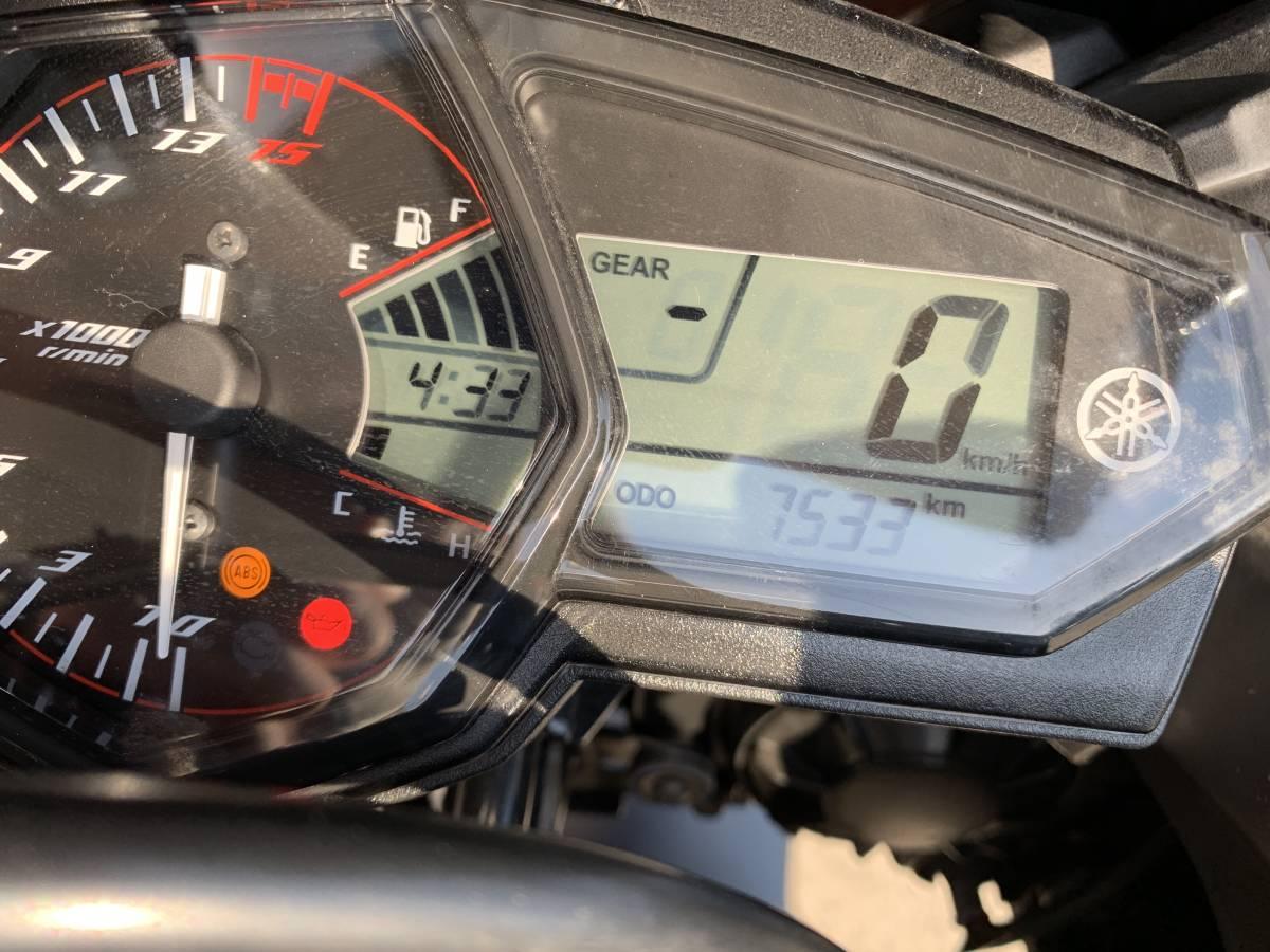 兵庫発 YAMAHA ヤマハ RG10J YZF-R25 ABS FI カスタム多数 純正品部品全有 ETC 実働確認済み美車 直接取引 陸送 対応_画像7