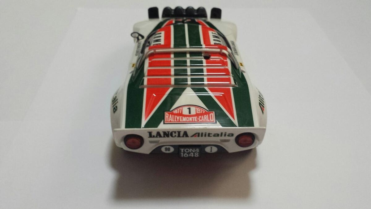 京商 MINI-Z ミニッツ ボディ ランチア ストラトス LANCIA STORATOS '77 Monte Carlo (No.1) アリタリア ケース無し現状品 _画像4