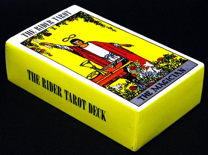 ★ タロットカード (ポーチ付き) ★ 「 ライダー タロットカード] The Rider Tarot Deck_画像4