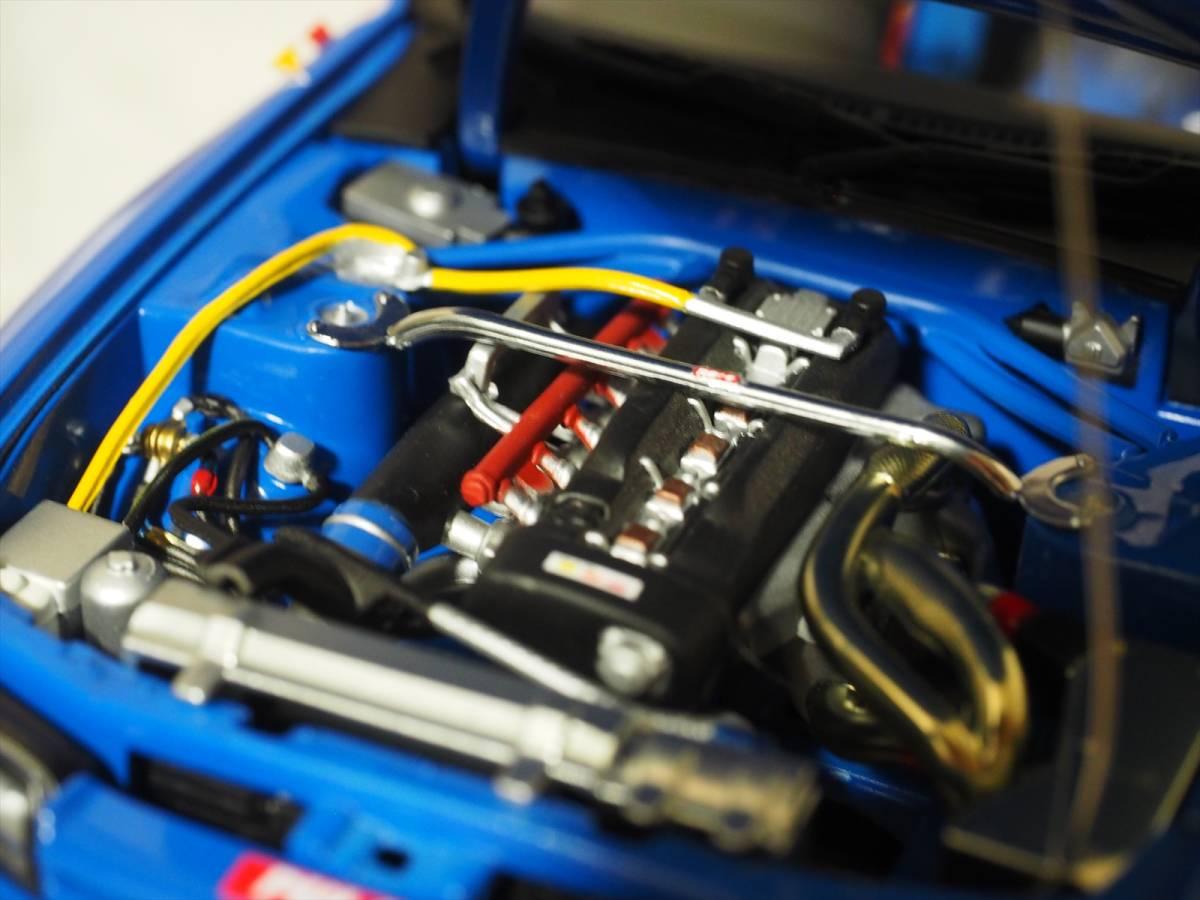 ニッサン スカイライン GT-R (R32) Group A 1990 CALSONIC #12 Autoart 1/18 89079_画像7