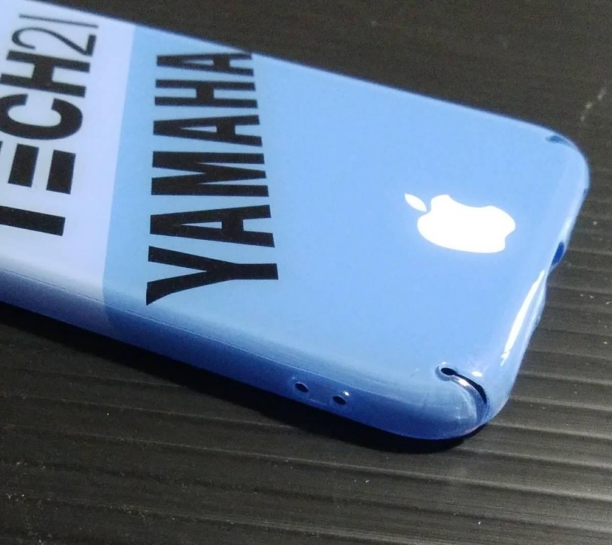 iPhone 8 YAMAHA TECH21 ハードケース ヤマハ テック21 8耐 YZF R1 FZR チャンプRS_画像4