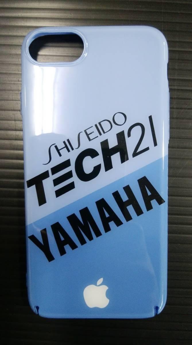 iPhone 8 YAMAHA TECH21 ハードケース ヤマハ テック21 8耐 YZF R1 FZR チャンプRS_画像3
