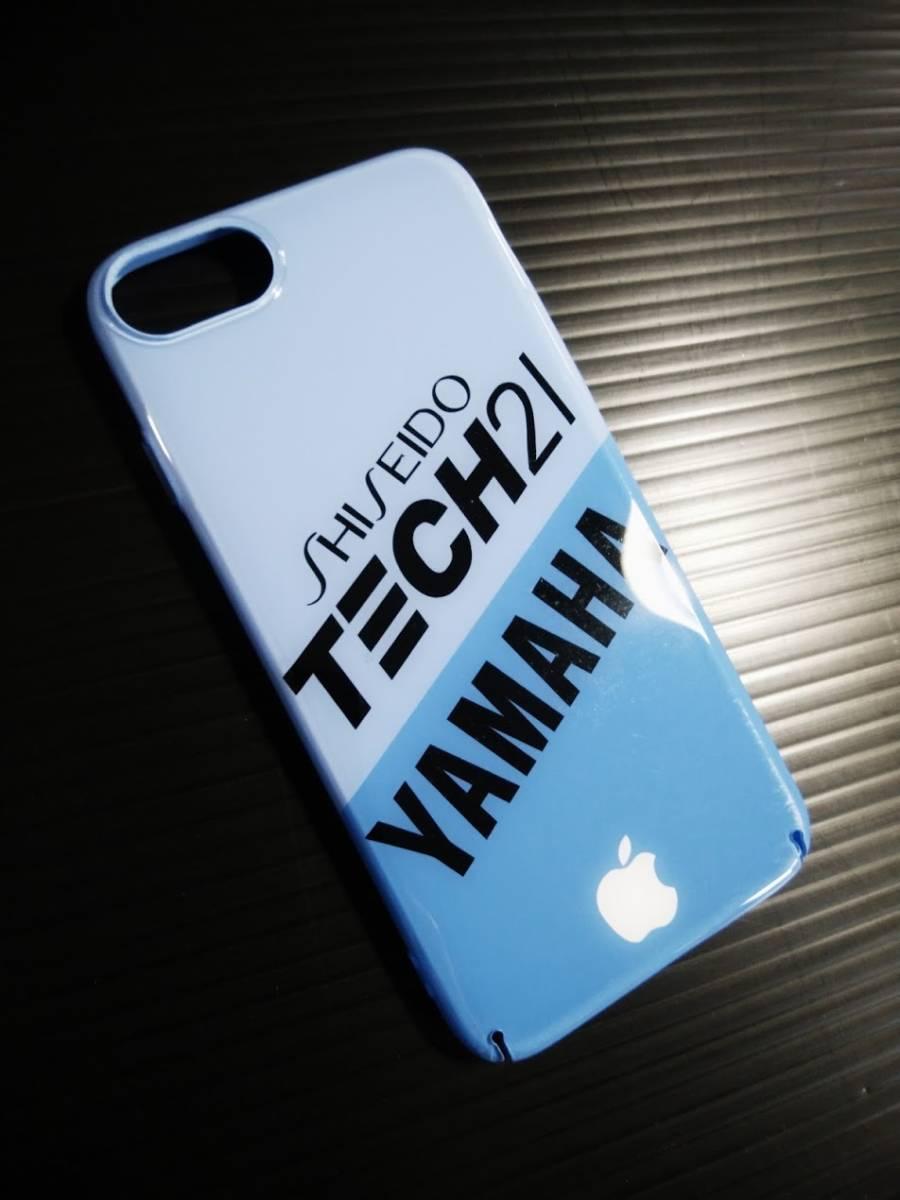 iPhone 8 YAMAHA TECH21 ハードケース ヤマハ テック21 8耐 YZF R1 FZR チャンプRS