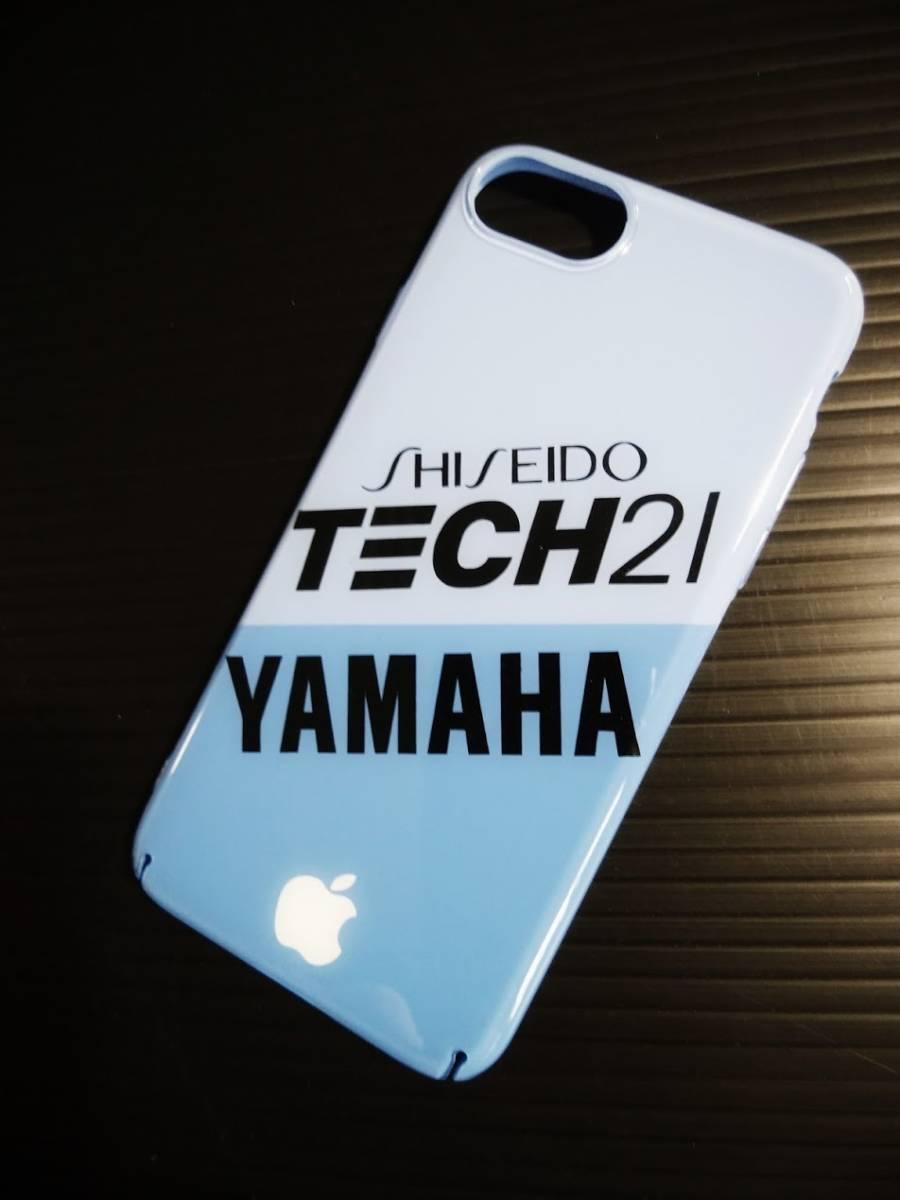 iPhone 8 YAMAHA TECH21 ハードケース ヤマハ テック21 8耐 YZF R1 FZR チャンプRS_画像2