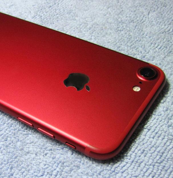 微小傷2箇所のみ 極美品 アップルストア 購入品 SIMフリー Apple iPhone7 128GB PRODUCT レッド iPhone 7 スピード発送 A1779 NPRX2J/A_画像8