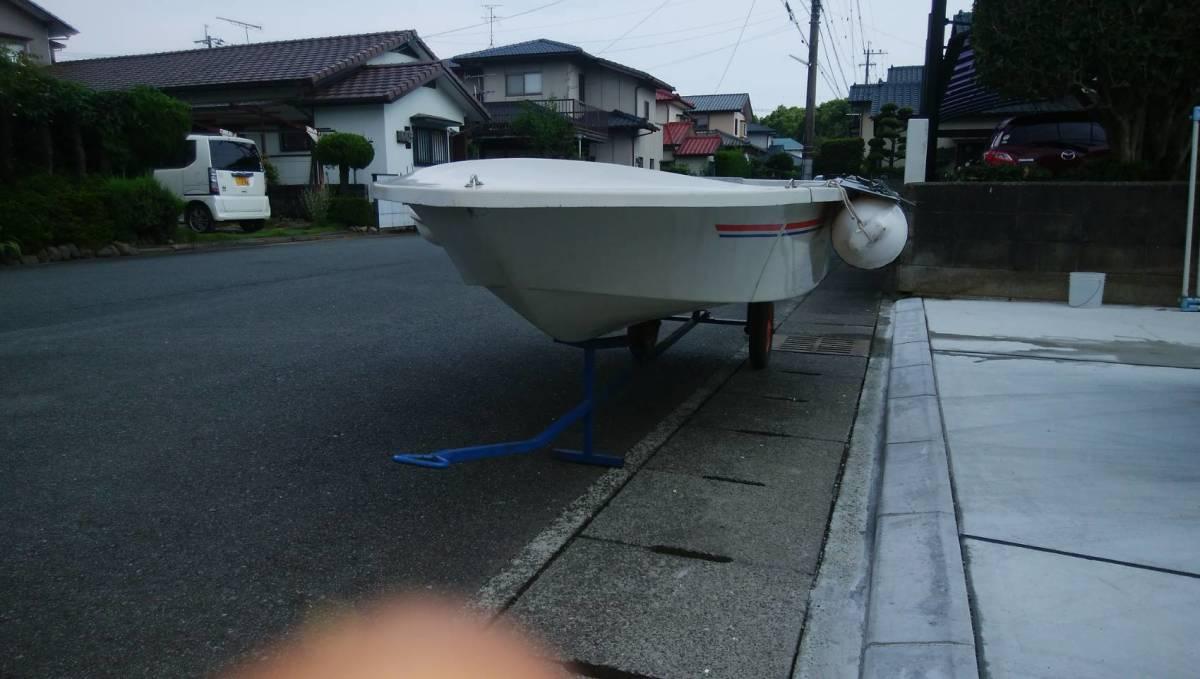 アカシヨット EK-270 3分割 熊本県より引取り限定_画像2