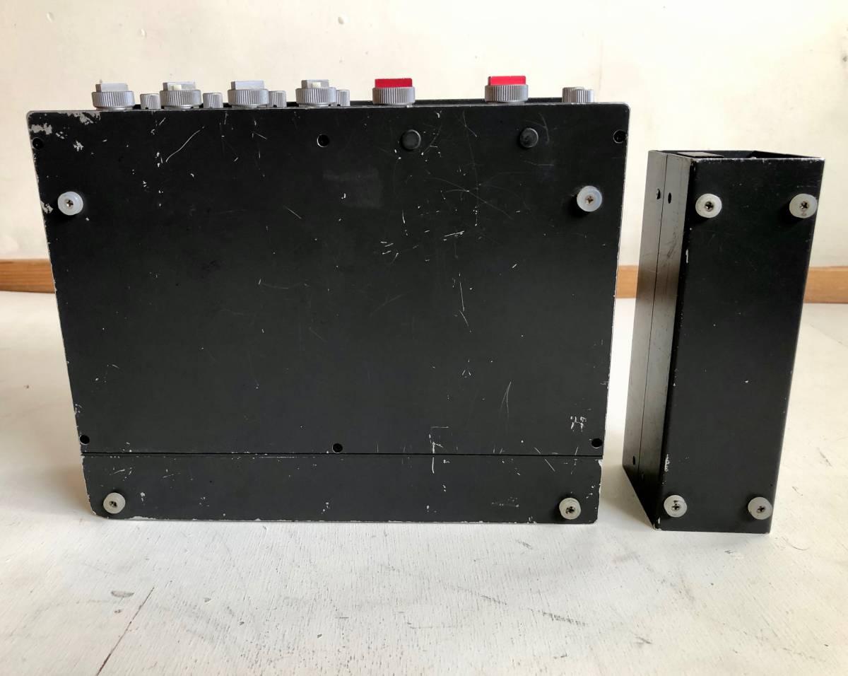 完動品 SIGMA EFP-402L 4CHミキサー コンパクトステレオ & SS-4061 Mk-Ⅲ P.S パワーサプライ セット / 専用ケース 接続コード 付属_画像9