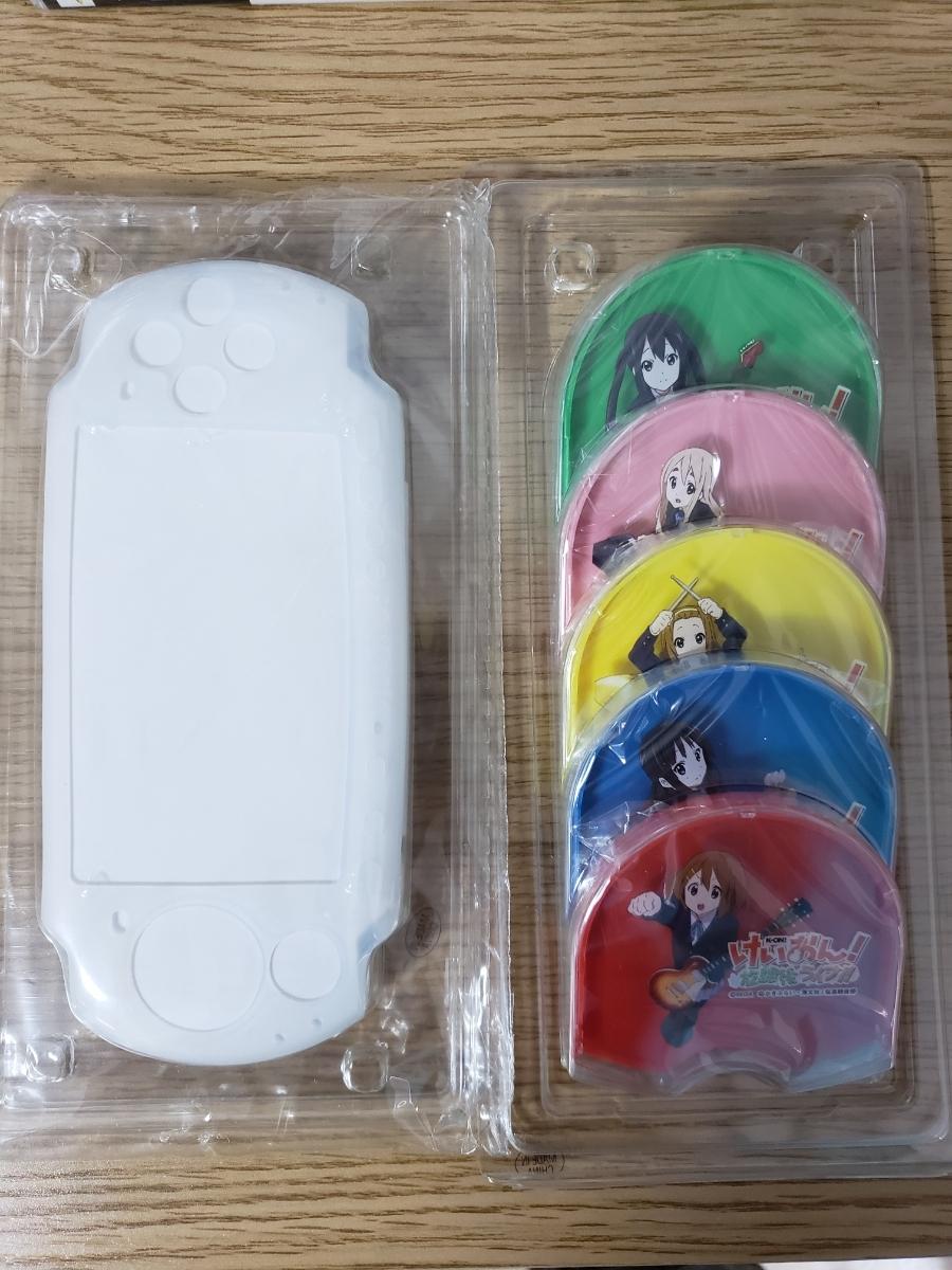 PSP-3000本体2台+ソフト61枚セット/涼宮ハルヒの追想/VITAMINX/頭文字D/モンハン/ガンダム/けいおん/ナムコミュージアム/メタルギア/FF _画像9